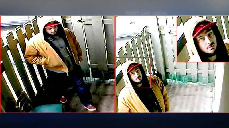 Burglary suspect accused of stealing marijuana from Gresham home. (Images released by Gresham Police Department)