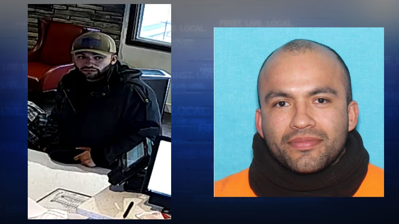 Alex Rico Ortiz (Images released by Portland Police Bureau)