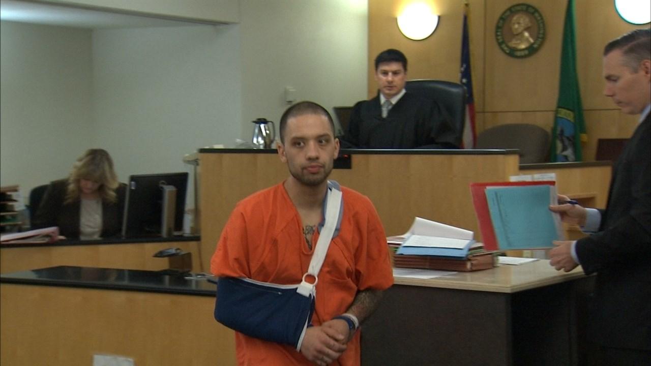 Dominic Tovar in court Wednesday. (KPTV)
