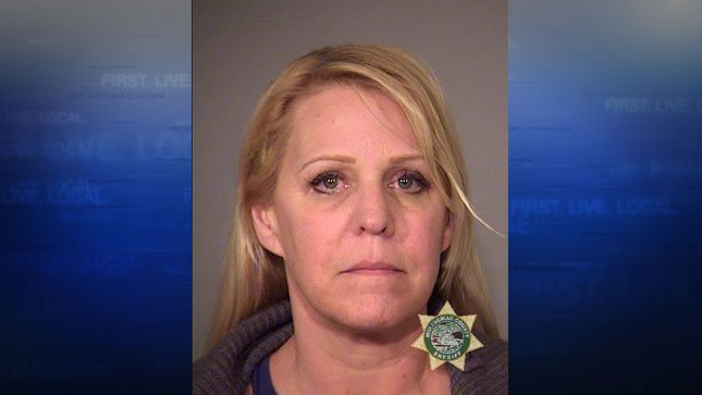 Tami Stein, jail booking photo