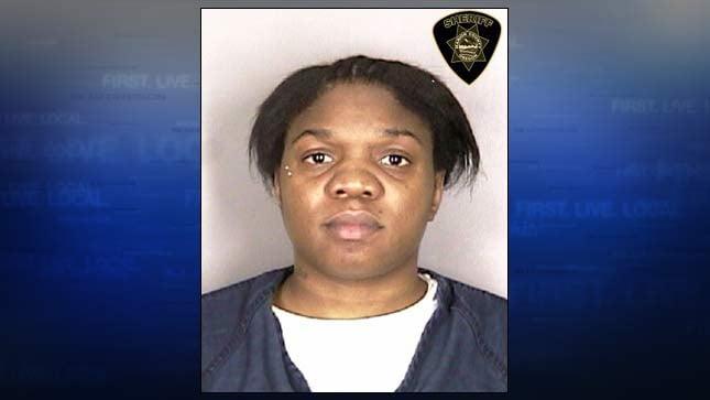 Catrice Pittman, jail booking photo