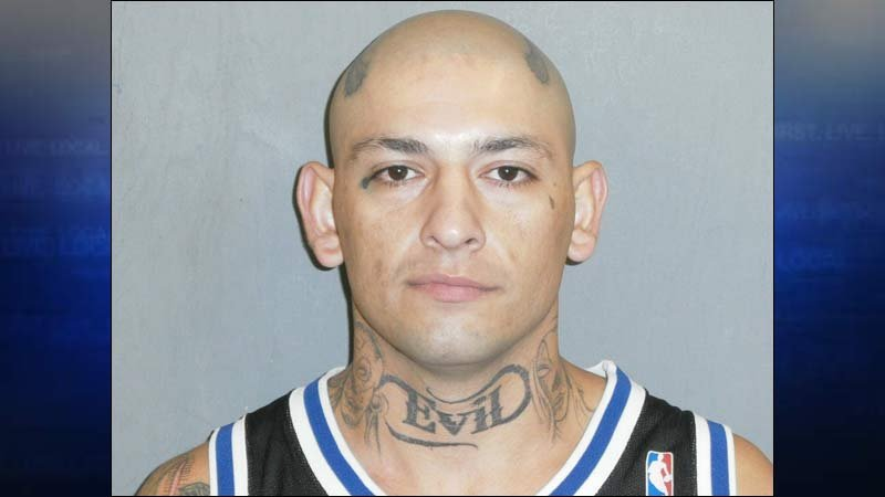 Christopher Deleon, jail booking photo