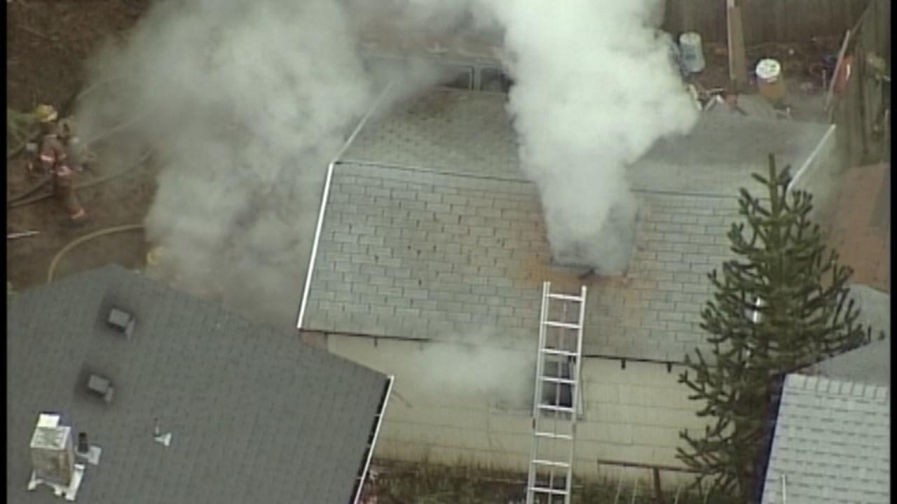 Deadly garage fire in southeast Portland in 2013. (KPTV)