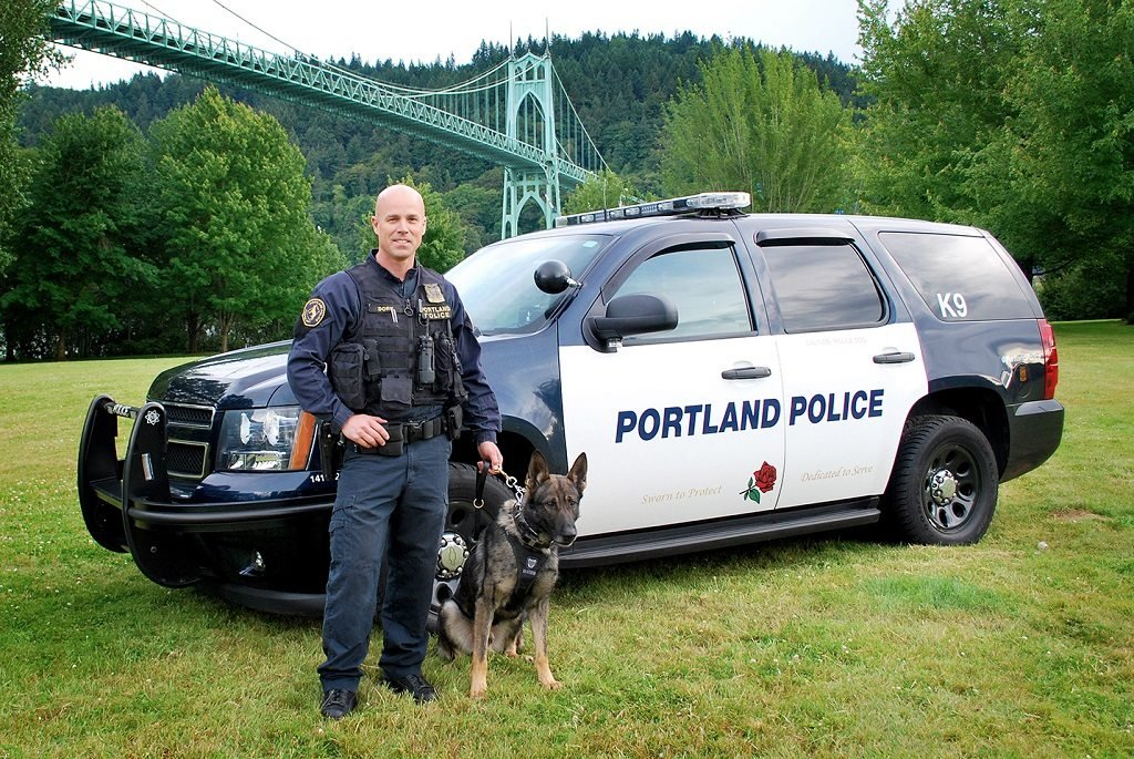 K-9 Rico (Courtesy: PPB)