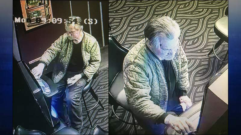 Surveillance images released by Oregon City Police Department.