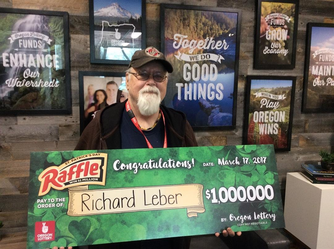 Richard Leber (Courtesy: Oregon Lottery)