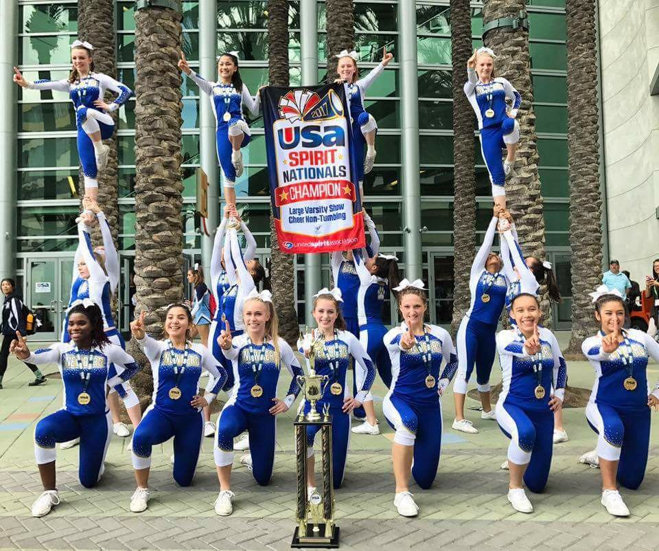Newberg High School varsity cheer team, Newberg Cheer Facebook