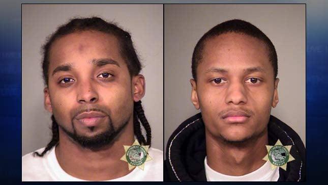 Jamias Leondre Hart-Rasberry, Nathaniel Thomas Peters (jail booking photos)