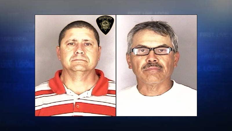 Arturo Lua Carbajal, Ernesto Chavez-Cruz (Jail booking photos)