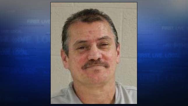 Ernie Lipps, jail booking photo