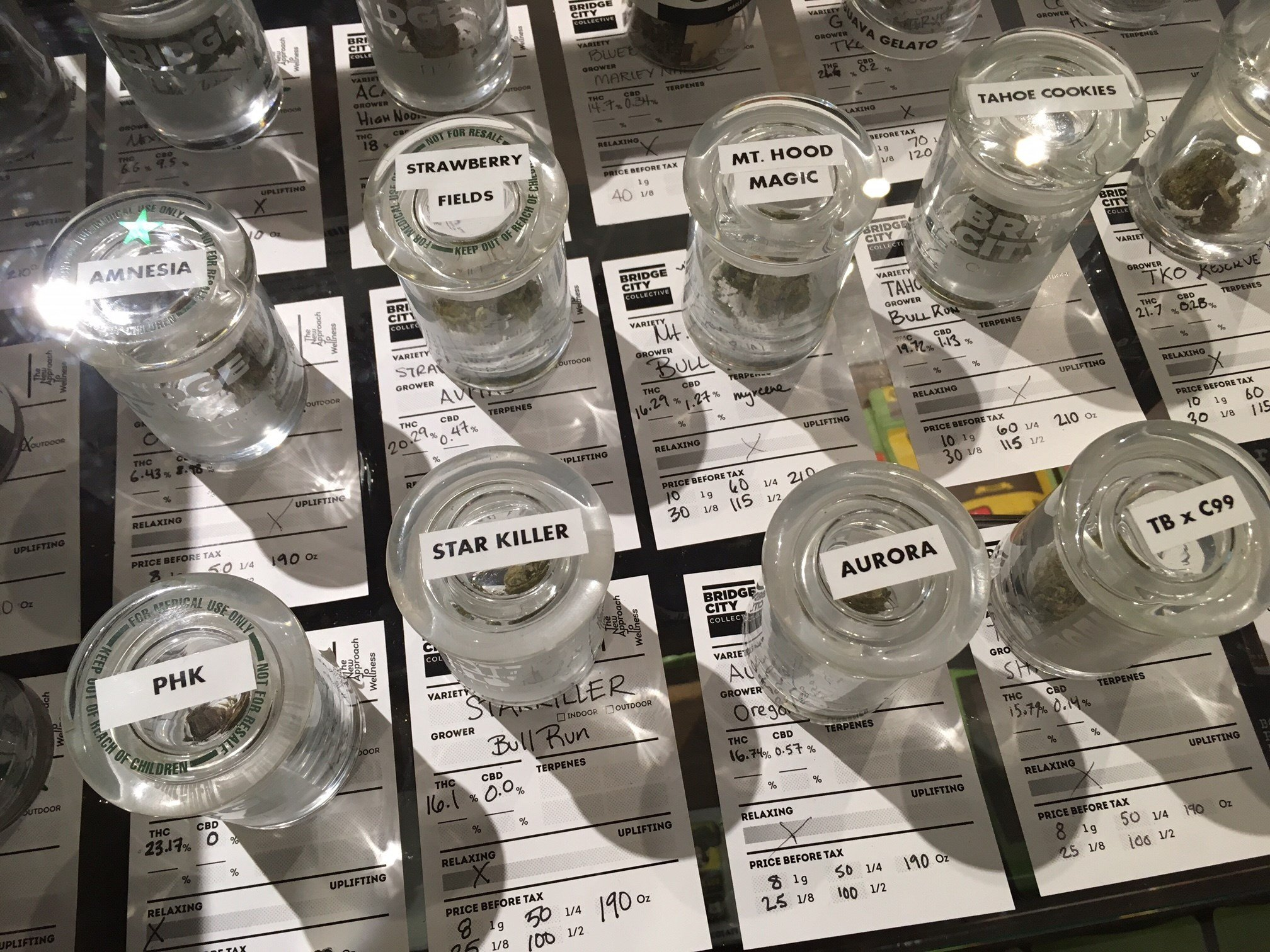 Marijuana at Bridge City Collective on Southeast Grand. (KPTV)