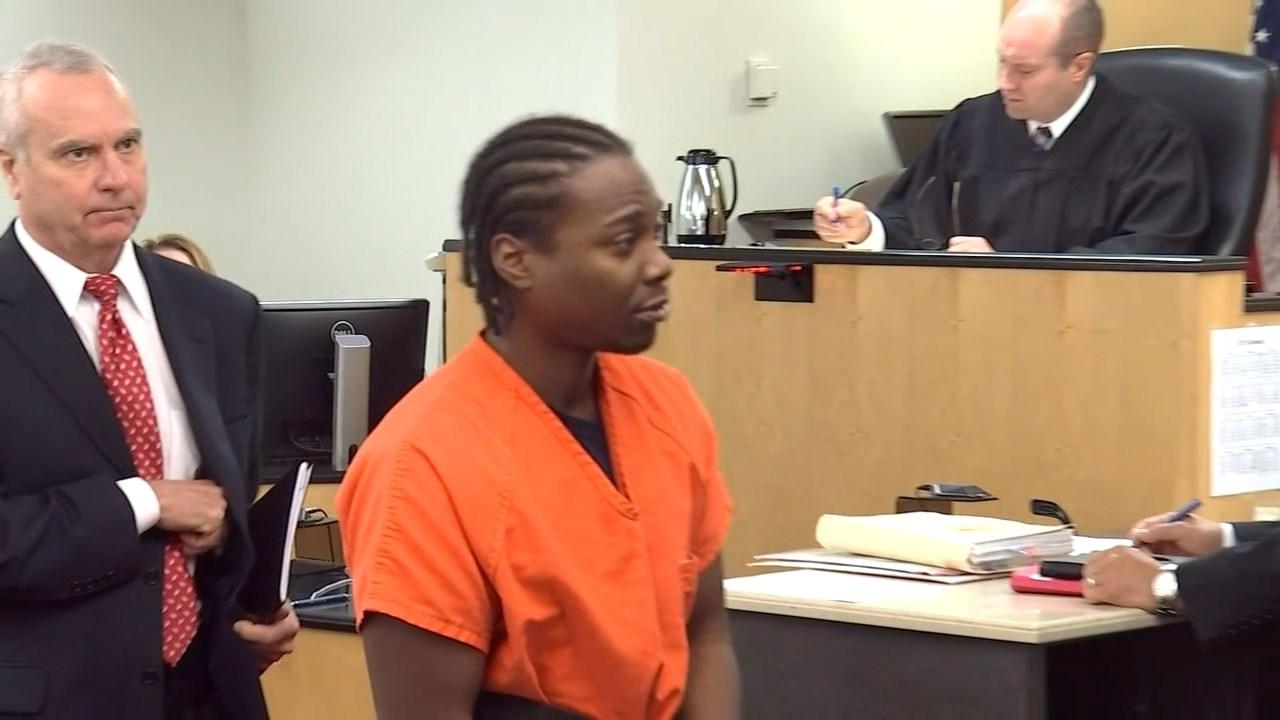 Arkangel Howard during 2017 court appearance. (KPTV)