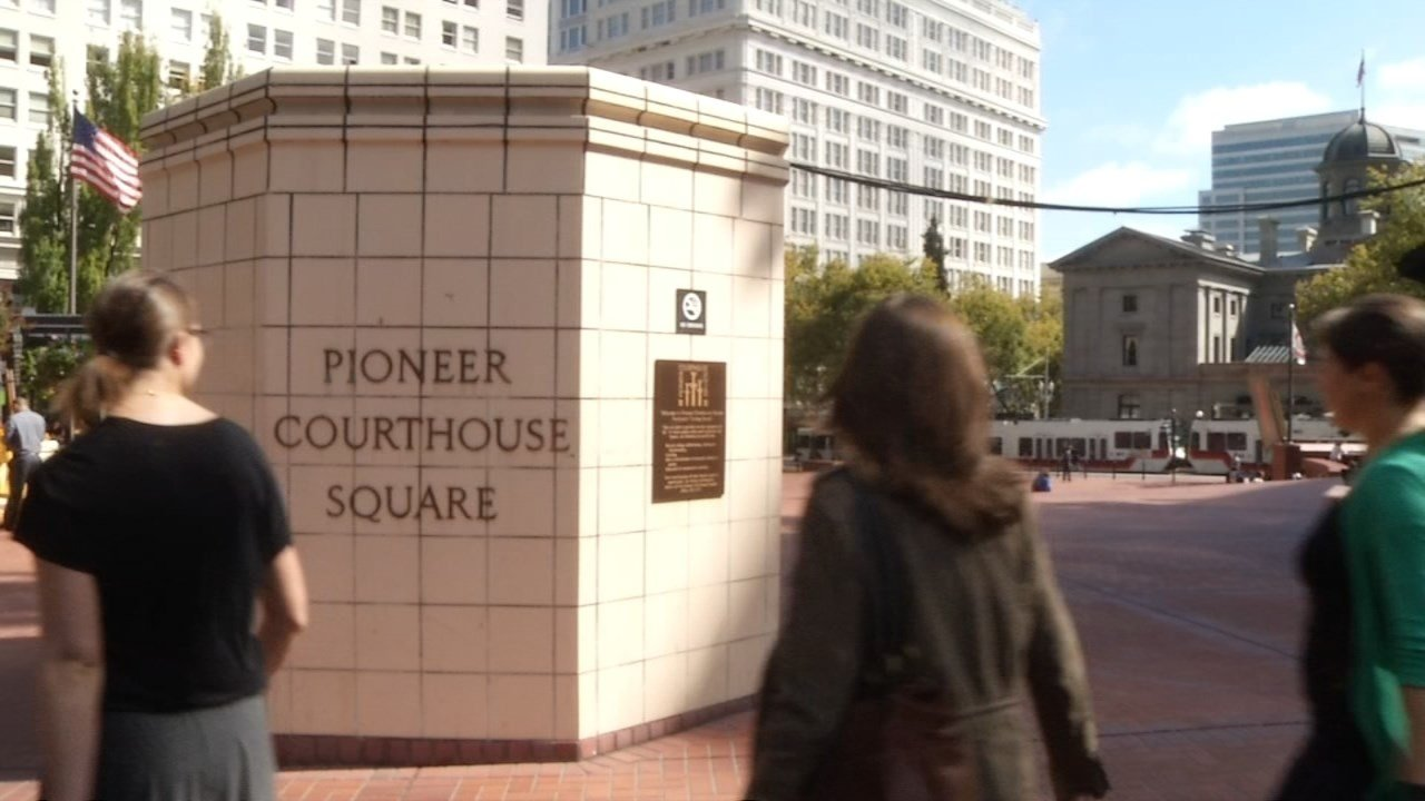Pioneer Courthouse Square (KPTV file image)