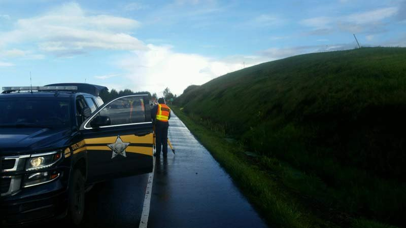 Scene of deadly crash on Highway 22 in Polk County. (Photo: Oregon State Police)