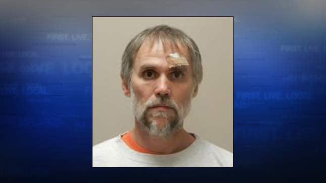 William F. Derby, jail booking photo