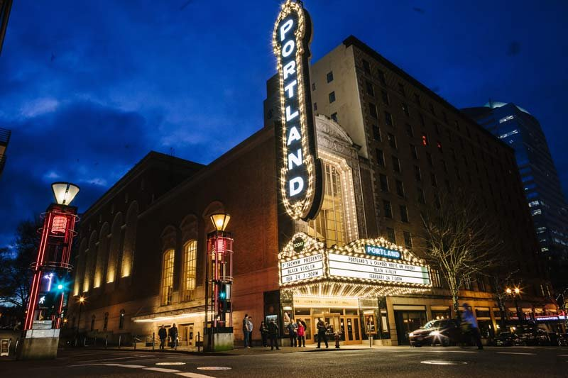 Arlene Schnitzer Concert Hall, photo: Portland'5 Centers for the Arts