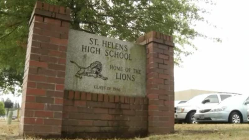 St. Helens High School (KPTV file image)