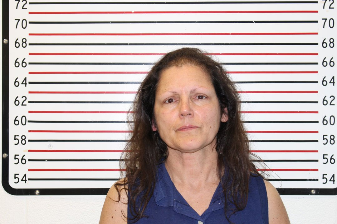Kathryn St. Clare booking photo (Clatsop Co. Jail)