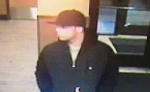 Surveillance image of suspect accused of setting man on fire at Denny's restaurant. (Image released by Clackamas County Sheriff's Office)