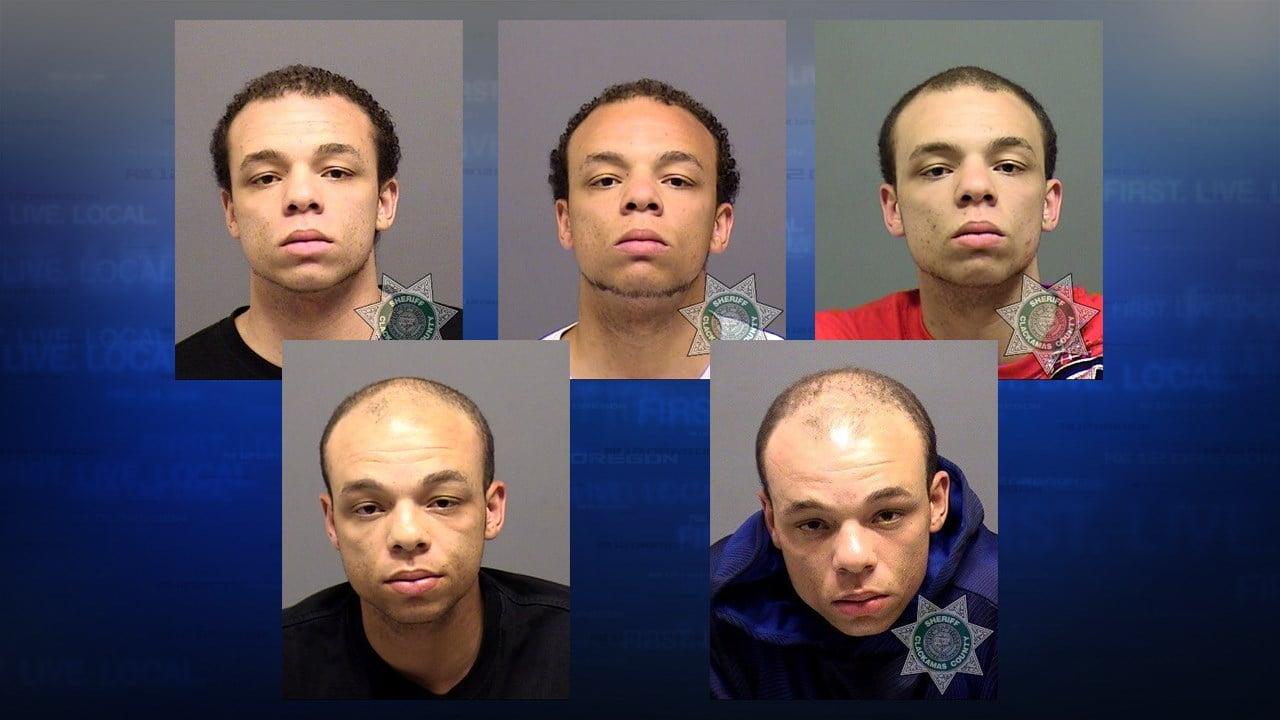 DeShaun Swanger past jail booking photos