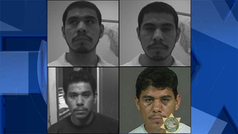 Photos of Santiago Martinez-Flores released by the Clackamas County Sheriff's Office