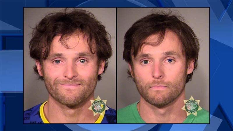 Joseph Leineweber, jail booking photos from April