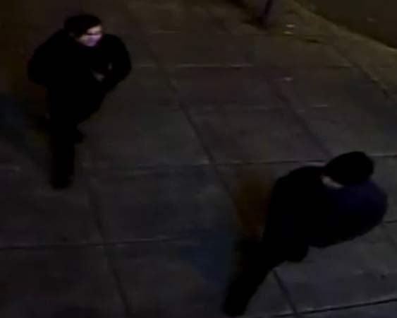 Biketown vandalism suspects. (Crime Stoppers of Oregon/Portland Police Bureau)
