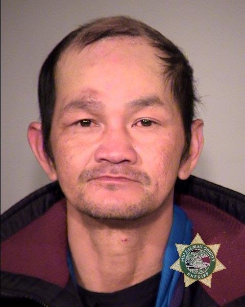 Hieu Van Duong booking photo (Multnomah Co. Jail)