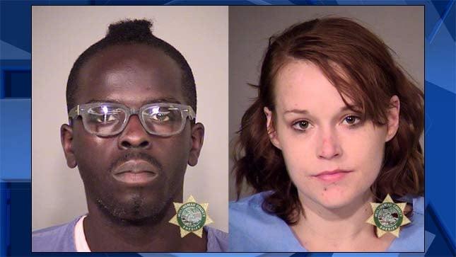 Macknell Christopher Jones, Nicole Marie Moen, jail booking photos