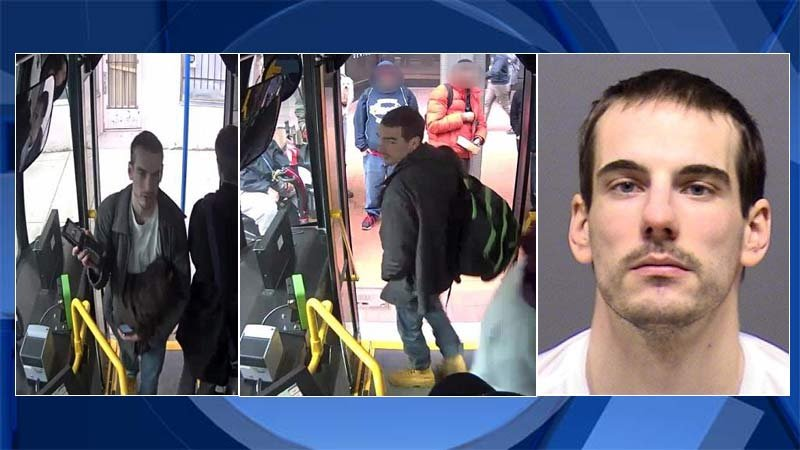 Jared Weston Walter, images released by Portland Police Bureau.