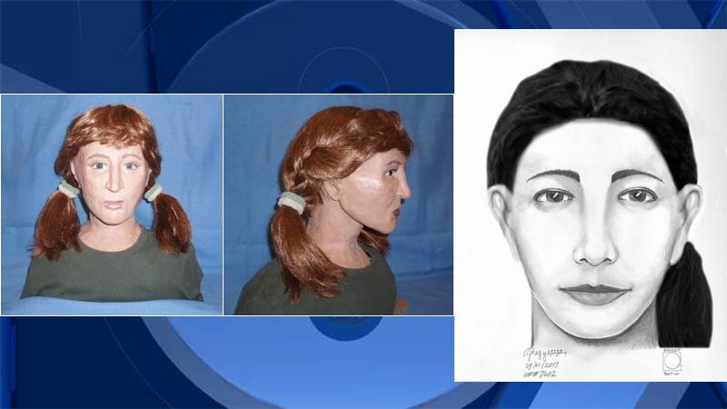 Images released by Oregon State Police in the investigation of an unknown woman whose remains were found near Government Camp in August 1986. (Images: Oregon State Police)