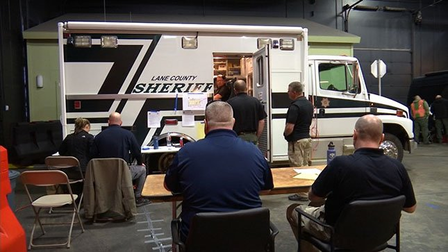 The Lane County Sheriff's Office was one of the agencies taking part in this year's Pacific Northwest Crisis Negotiation Competition. (KPTV)