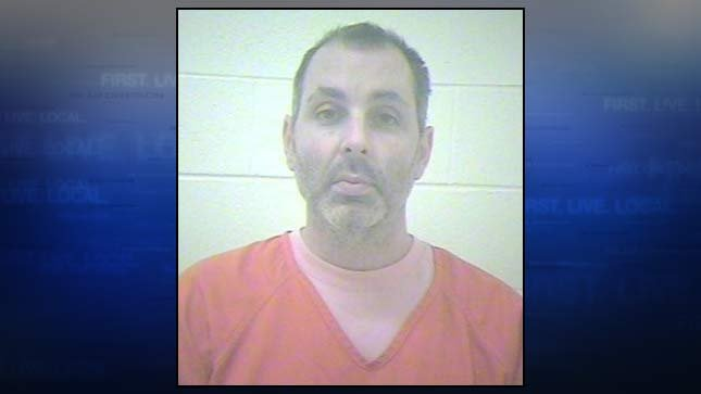 Stephen Wagner Nichols, jail booking photo