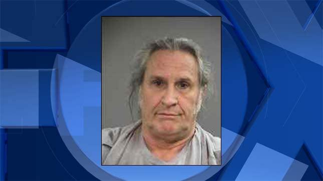 John Martin Roos, jail booking photo