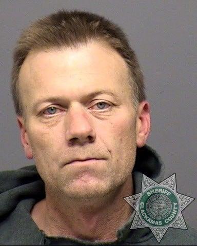 Bill Paul Anderson booking photo (Clackamas County Jail)