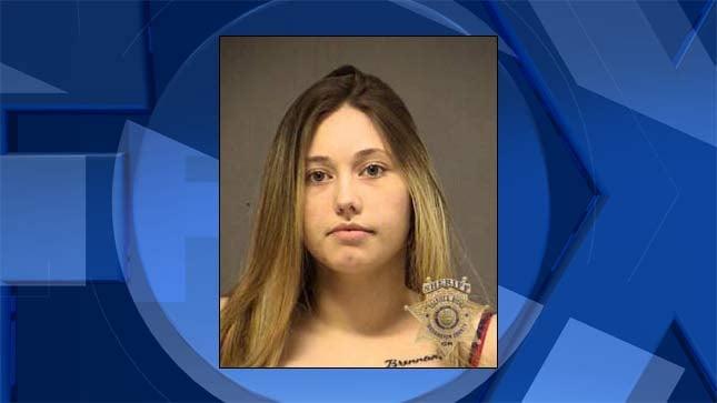 Mariah Lynn Molina, jail booking photo