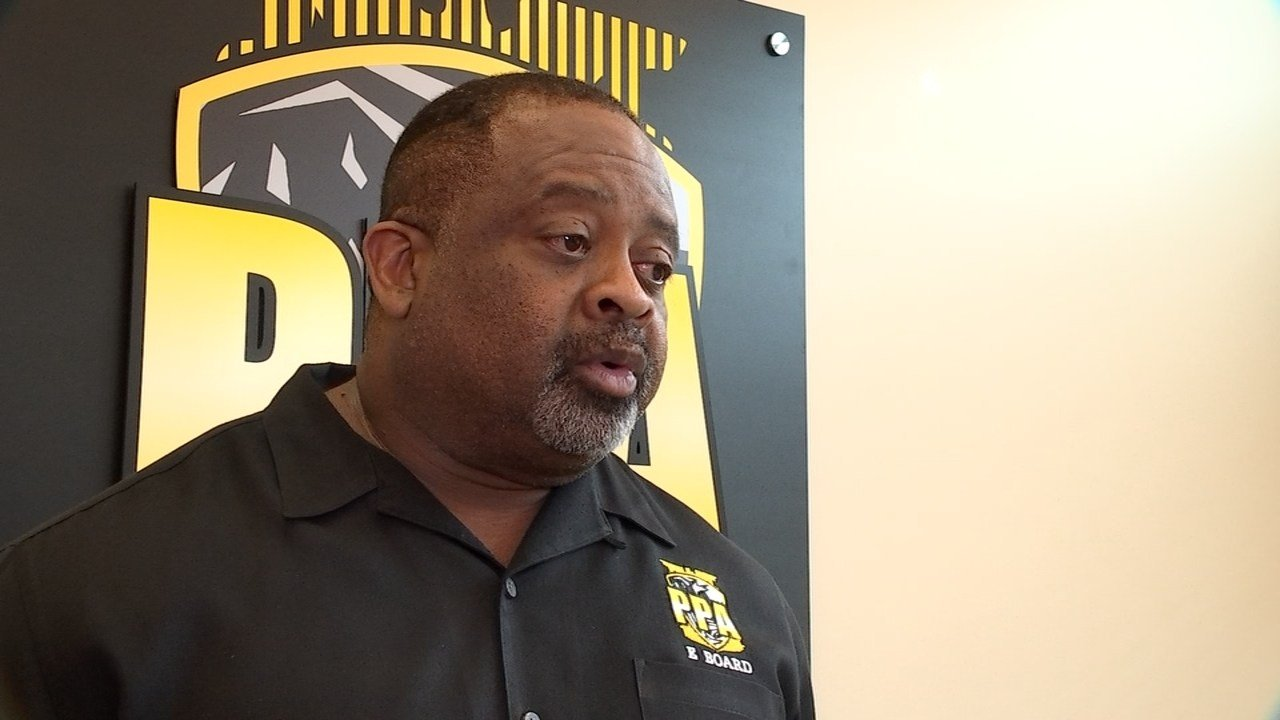 "Portland Police Association president Daryl Turner said language in the job posting for the PPB Chief position referring to a ""history of legally sanctioned systemic racism"" was flat-out offensive. (KPTV)"