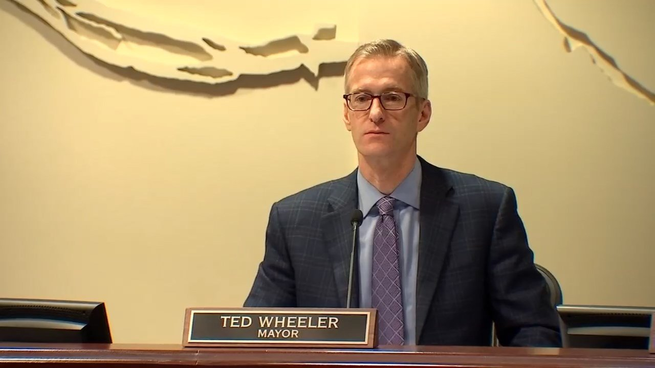 Portland Mayor Ted Wheeler (KPTV)
