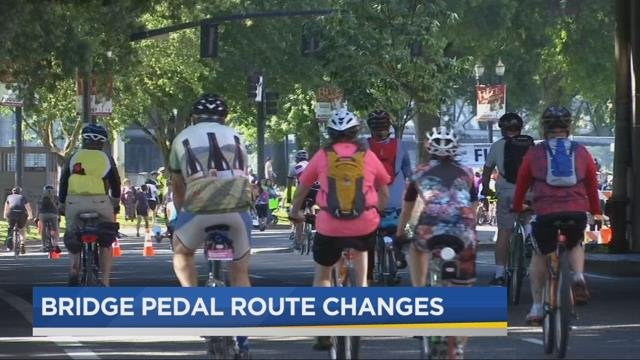 Bridge Pedal changing route, organizers cite limited police staffing