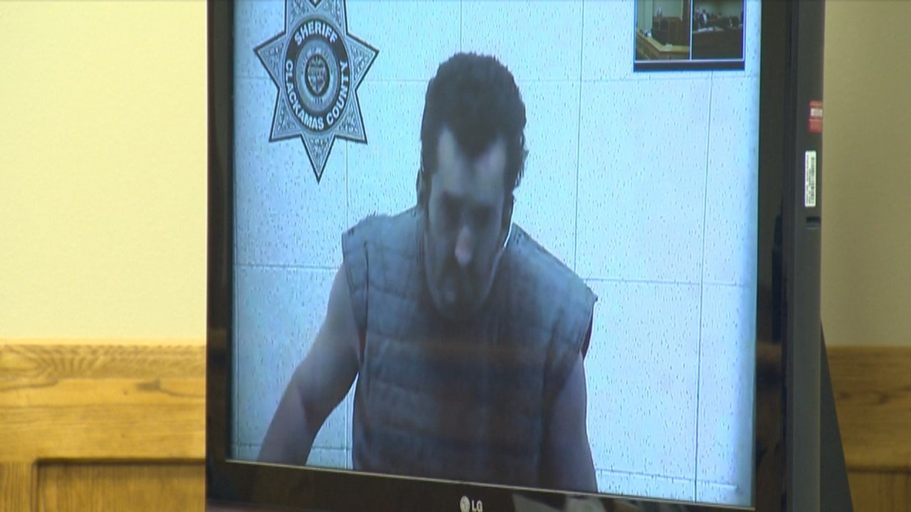 Joshua Webb appeared in court Tuesday via video monitor. (KPTV)