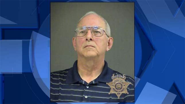 Richard Leroy Garrison, jail booking photo