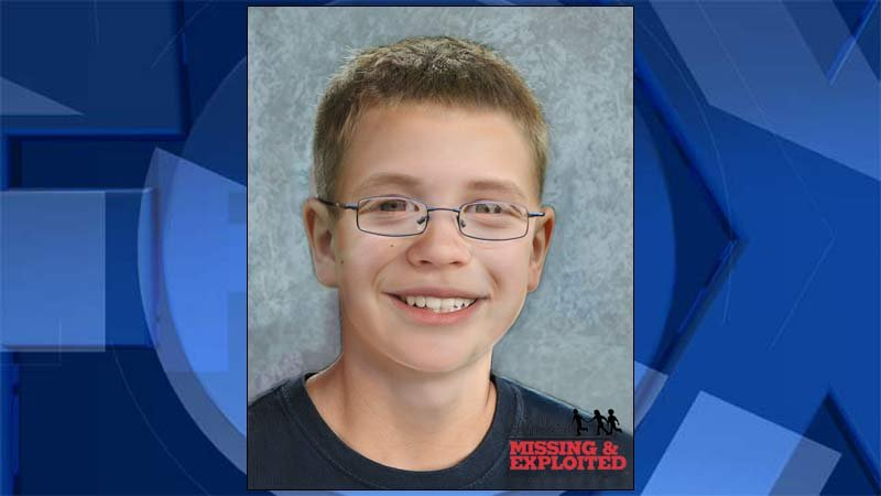 Age progression image of Kyron Horman released by the National Center for Missing & Exploited Children on Thursday.