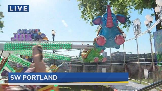 CityFair kicks off on Portland waterfront with food, fun and rides