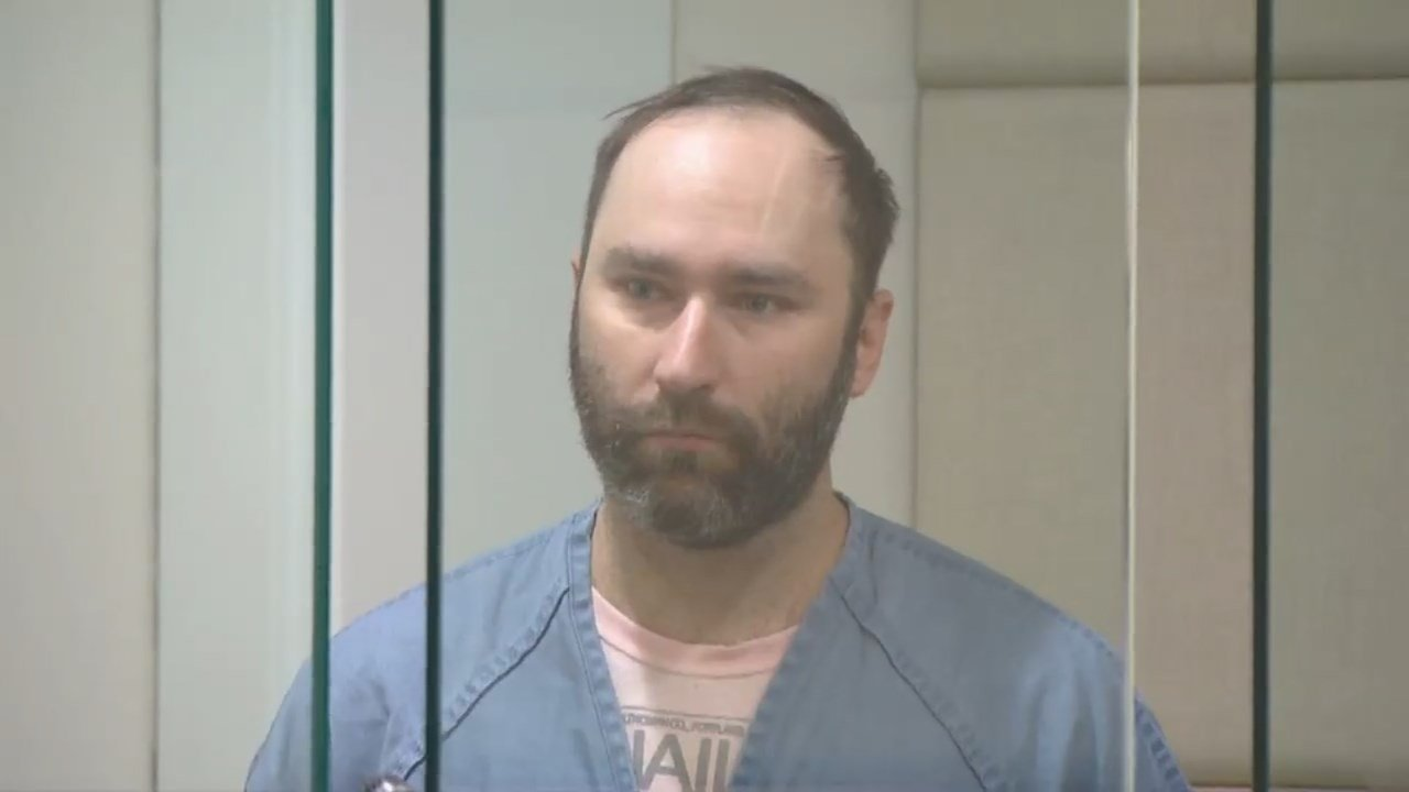 Thomas Oliver in court Friday. (KPTV)
