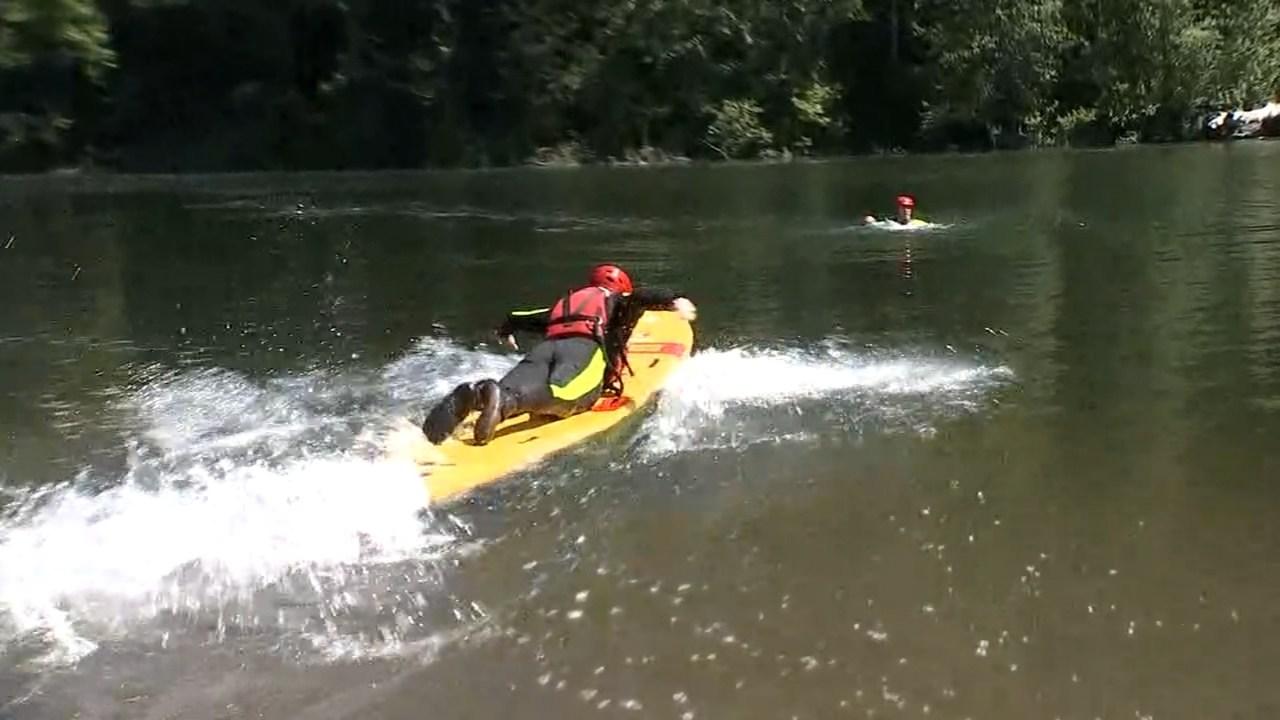 Lifeguards training (KPTV)
