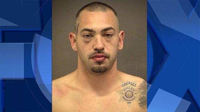 Corey Bock, jail booking photo