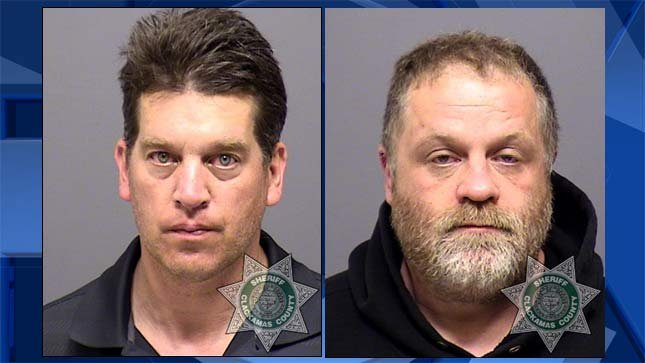 Chad Harwood, Robert Eichler, jail booking photo