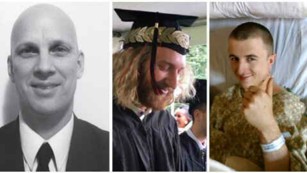 MAX stabbing victims (left to right): Ricky John Best, Taliesin Myrddin Namkai Meche and Micah Fletcher