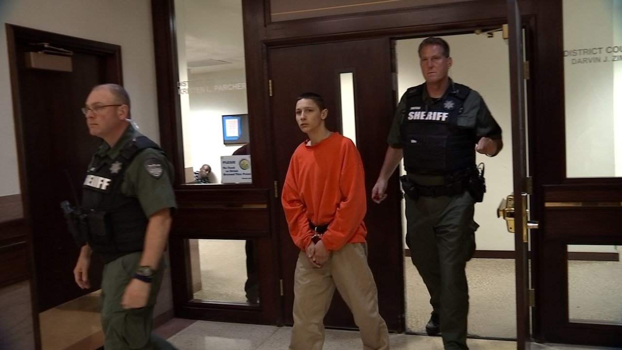 Jacob Trotter in court Tuesday. (KPTV)