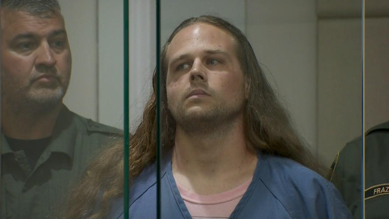 Jeremy Christian in court. (KPTV)